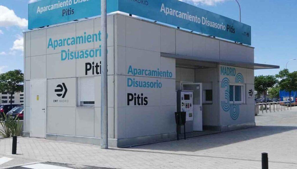 Nuevo aparcamiento multimodal en Pitis