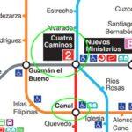 Cierre anticipado de Metro Canal y Cuatro Caminos