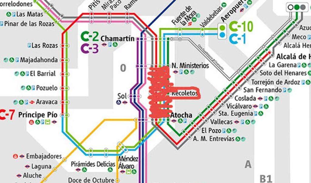 Obras Atocha Nuevos Ministerios