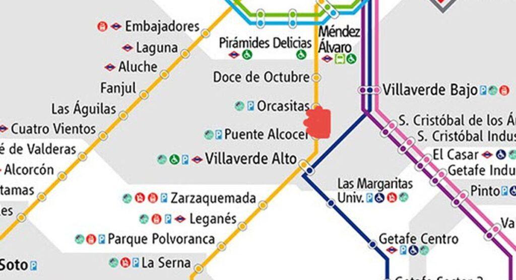 Cierre de Metro Orcasitas en agosto